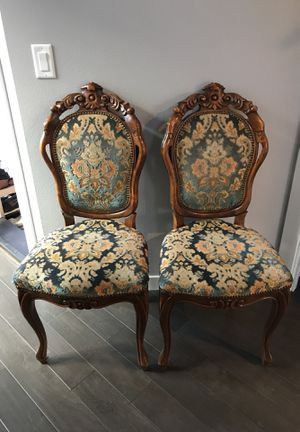 Antique chairs x 2 for Sale in Portland, OR