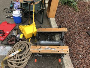 black and decker workmate portable project center and vise for Sale in Seattle, WA
