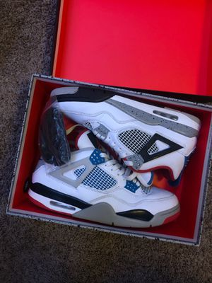 "Jordan 4 ""What The"" Size 10.5 Og All for Sale in Oakland, CA"