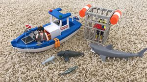 Playmobil fishing scuba dive kit for Sale in The Colony, TX