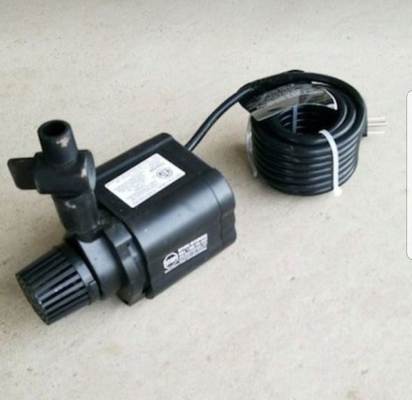 Waterfall/fountain water pump for ponds 560gph
