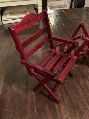 "18"" doll patio chairs for Sale in Cedar Park, TX"