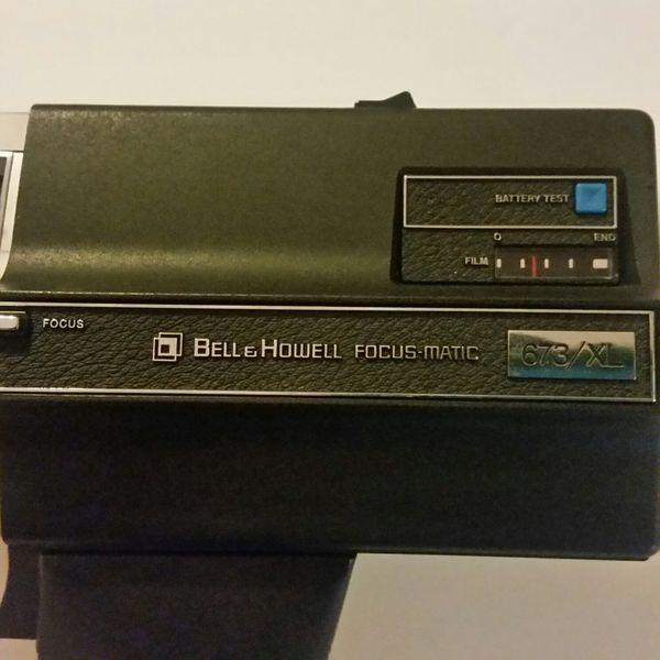 Working Bell & Howell Super 8 Camera 673/XL