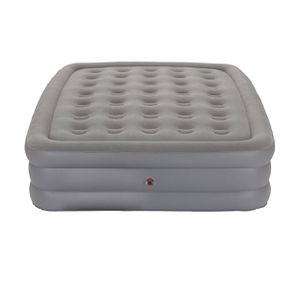 Coleman QuestRest Double High Air Mattress With External Pump Queen - Gray for Sale in El Monte, CA