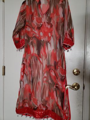 Pure georgette long shirt for Sale in Elk Grove, CA