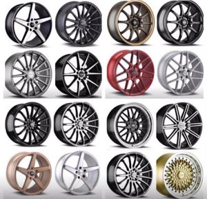 """Versus Racing Wheels Rims & Tires Packages (Package Pricing Includes Tires ) 17"""" Package Starting @ Only $799 17"""" 18"""" Inch OverStock Specials Many for Sale in La Habra, CA"""