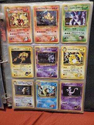 12 japanese pokemon card for Sale in Pawtucket, RI