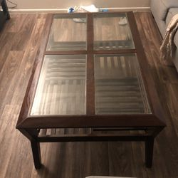 Glass top coffee table for Sale in Phoenix,  AZ