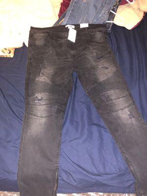 Brand new fashion nova men's skinny biker jeans! for Sale in San Diego, CA