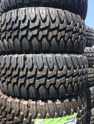 MUD TERRAIN TIRES NEW SET OF TIRES ALL 4 for Sale in Phoenix, AZ