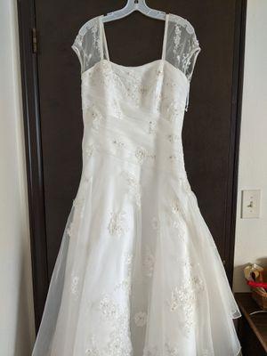 David's Bridal Wedding Dress size 14 for Sale in Tacoma, WA