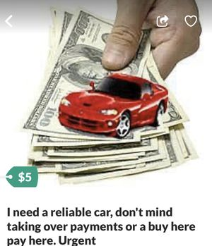 Yes I need a reliable vehicle for Sale in Riverview, FL