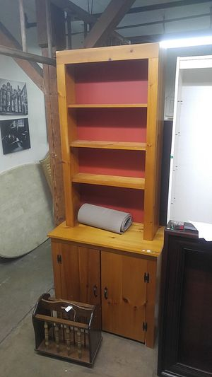 Tall Shelf/Cabinet for Sale in North Wales, PA
