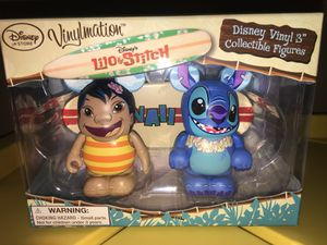 """Disney 3"""" Vinylmation Lilo and Stitch Combo Set - Disney Store Exclusive for Sale in San Gabriel, CA"""