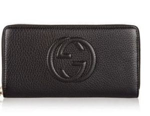 Gucci soho black leather zip around wallet for Sale in Cleveland, OH