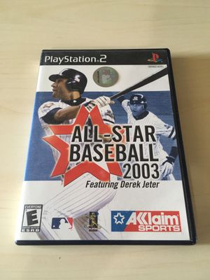 PS2 All Star Baseball for Sale in East Wenatchee, WA