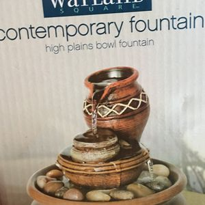 Battery operated, small water fountain for Sale in Sacramento, CA