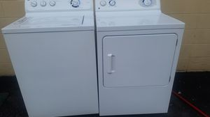 Very nice! GE washer and dryer for Sale in Chesapeake, VA