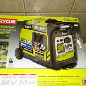 Generator Ryobi Bluetooth for Sale in Miami Gardens, FL