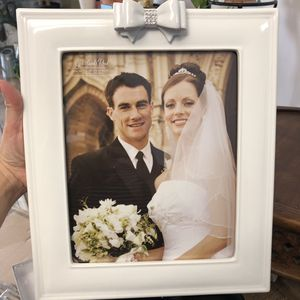 Porcelain photo frame for Sale in MIDDLE CITY WEST, PA