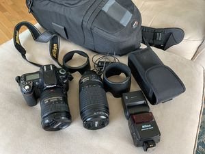 Nikon Photography bundle with upgraded lenses for Sale in Tacoma, WA