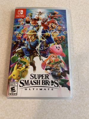 Super Smash Bros Ultimate Nintendo Switch for Sale in Seattle, WA