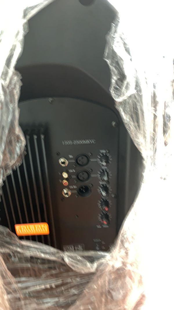 Dj speaker 2400 watts - Conns Edison professional DJ equipment.