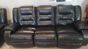 Ashley's Recliner 3 seat Couch Make me an offer for Sale in Rancho Mirage, CA