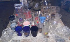 Large Shot an Drink glass collection for Sale in Garland, TX