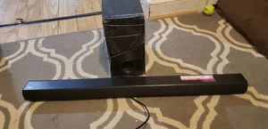 Lg sound bar with subwoofer for Sale in Arlington, VA
