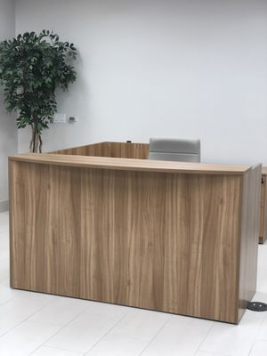 Reception desk and file cabinets for Sale in Houston, TX