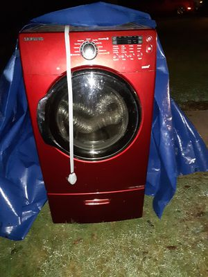 Samsung DV350AER/XAA 03 Dryer/ petastool droor underneath for Sale in Edgewood, WA
