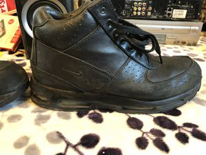Black Nike Work Boots for Sale in Los Angeles, CA