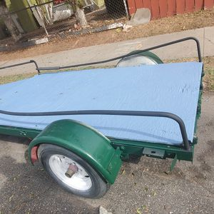 Utility trailer in good condition 11 ft 2 inches long by 54 inches wide. Best offer for Sale in San Diego, CA