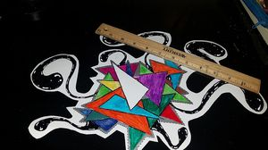 Abstract Art Sticker for Sale in Los Angeles, CA