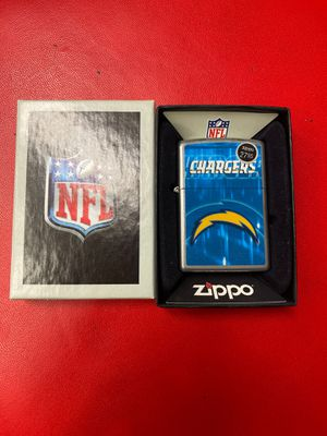 NFL Chargers Zippo Lighter for Sale in North Las Vegas, NV