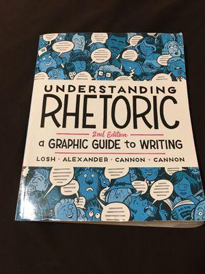 Understanding rhetoric 2nd edition for Sale in San Diego, CA