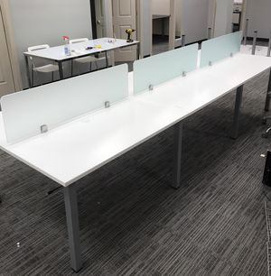 Call center benching cubicles with glass NEW for Sale in Lakeland, FL