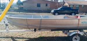 Sea nymph. Aluminum boat.15 foot for Sale in Highland Haven, TX