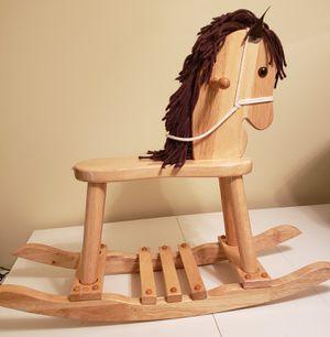 Vintage Wooden rocking horse for Sale in Richmond, VA