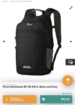 Lowepro Hatchback BP 150 Backpack for Sale in West Hollywood, CA