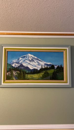 Mountain scenic acrylic painting for Sale in Beaverton, OR