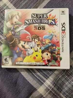 Super Smash Bros 3DS for Sale in Hoboken, NJ