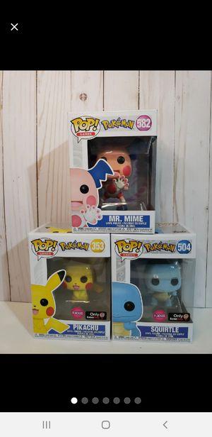NEW Pokemon Funko Pop Lot for Sale in Baytown, TX