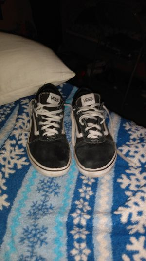 Vans black and white shoes for Sale in Tucson, AZ