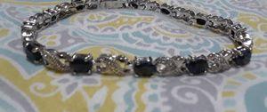 7.2 carat black sapphire bracelet for Sale in Waukegan, IL