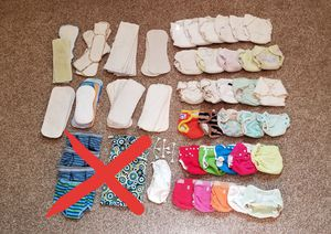 Cloth Diapers/Inserts/Training Underwear, etc. Lot (3 pics) for Sale in Pflugerville, TX