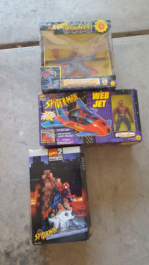 Spider Goblin Spider-Man web jet and 2D model for Sale in Phoenix, AZ