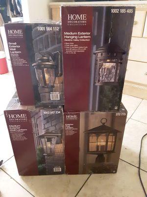 Home Decorators Collection exterior lanterns for Sale in Las Vegas, NV
