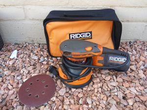 ORBIT SANDER 6 SPEEDS RIDGID for Sale in Phoenix, AZ